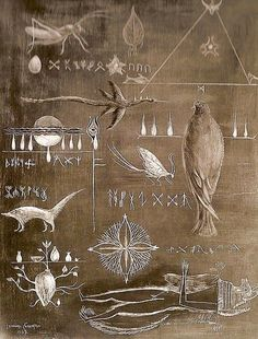 Leonora Carrington : Letter to Dana || Leonora Carrington (1917 - 2011) was a British-born Mexican artist, a surrealist painter and a novelist. She lived most of her life in Mexico City