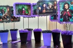 Custom Descendants Centerpieces by mgmlcreations on Etsy