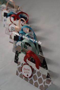 Die Quadratur des Kreises  Boxes and Gifts Tutorials  Umschlag basteln DIY geschenke verpacken und Geschenkkartons