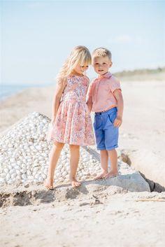 Girl`s summer dress; boy`s summer shirt and summer shorts. Summer Shirts, Kids Wear, Summer Collection, Fashion Brand, Floral, Summertime, Fall Winter, Flower Girl Dresses, Spring Summer