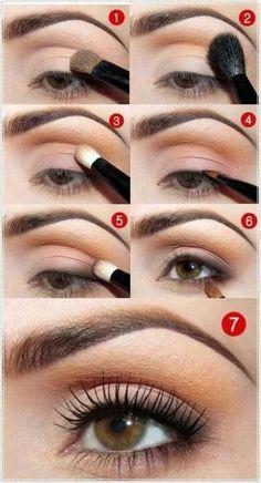 natural eye makeup tutorial for hazel eyes - Google Search