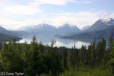 Skilak Lake, Alaska. Spent my ninth summer here.