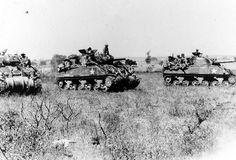 Indian Army Sherman tanks, 1944
