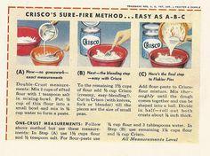 1940s Crisco Crust | by charlieruthvintagequeen