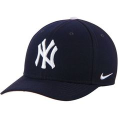 New York Yankees Nike Wool Classic Adjustable Performance Hat - Navy -
