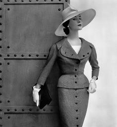 Myrtle Crawford, photo by Philippe Pottier, 1954