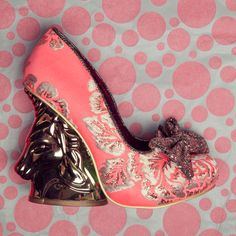 Irregular Choice Trixy Embroidery