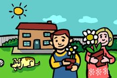 GARDENING WITH CHILDREN; Dozens of projects The whole family can share the joy of gardening. Entertain your children with a range of educational activities that have been developed, in collaboration with the RHS, for four- to seven-year olds.