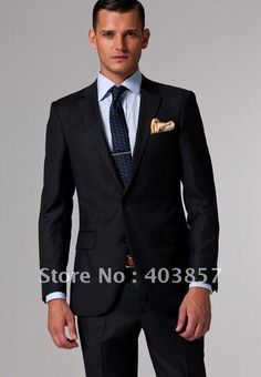 For a pinstripe/blue/gold look