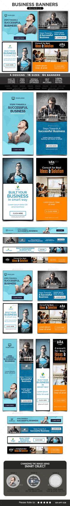 Business Banners Bundle - 4 Sets Download: http://graphicriver.net/item/business-banners-bundle-4-sets/11017268?ref=ksioks