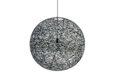 Random Light Small Black Suspension Lamp by Bertjan Pot for Moooi - | Space Furniture