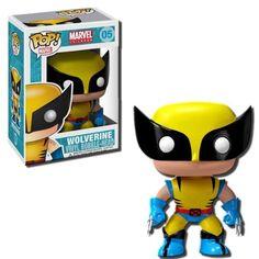 Funko Marvel Pop Vinyl Figure Wolverine → Want! Marvel Wolverine, Marvel X, Funko Pop Toys, Funko Pop Figures, Pop Vinyl Figures, Marvel Pop Vinyl, Funko Pop Marvel, Play Doh, Pop Bobble Heads