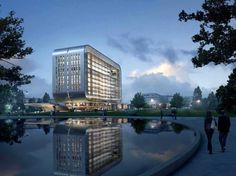 Oasis, The Great American Corporate Center by Form 4 Architecture (Santa Clara, California)