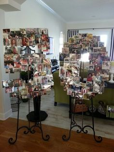 50th Birthday collage, guests bring a picture of the birthday girl!