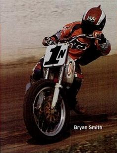 In 1999, Bryan Smith was #1 amateur dirt track racer in the nation, winning the coveted AMA Racing Horizon Award