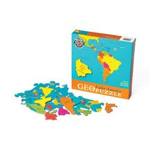 GeoPuzzle Latin America  by GeoToys  $10.50