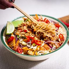 Vegan Food, Vegan Recipes, Tofu, Noodles, Recipies, Veggies, Healthy Eating, Vegetarian, Sweets