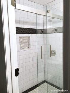 Small Black And White Master Bathroom Reveal Part 86