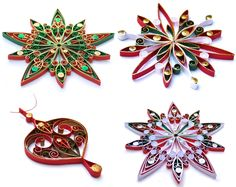Quilled Christmas Ornaments | Flickr - Photo Sharing!