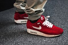 Speckled Red Fall 2009 #AirMax1 #Nike #Kicks