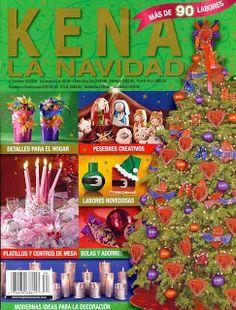 REVISTAS DE MANUALIDADES GRATIS: Kena la navidad