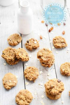 CHICKPEA COOKIES: Sure to be a hit with young and old, these are a fun and tasty way to enjoy the goodness of legumes. #onehandedcooks