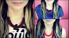fbccc9e621c1 Collar   Cómo hacer un collar fácil - hablobajito. Como ...