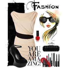 A night on the town - Polyvore