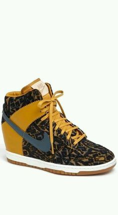 bc0f8501f9 Nike Wedge Sneakers, Nike Wedges, Sneaker Wedges, Nike Outfits, Casual