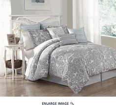 9 Piece King Luxe 100% Cotton Comforter Set