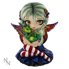 Strangeling Darling Dragonling by Jasmine Becket Griffith Nemesis Now