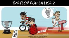 Triatlón por la Liga 2. pic.twitter.com/ywtgnvnJuO