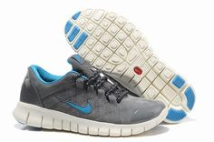 new product 9d2c2 14402 Nike Free Powerlines NRG 2012 525267 010 Grey and Chlorine Blue  59.99 Best  Nike Running Shoes