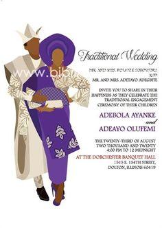 You do things… Igbo Wedding, Ghana Wedding, Wedding Day, Digital Invitations, Wedding Invitation Templates, Invitation Design, Ghana Traditional Wedding, Ethiopian Wedding, The Dorchester