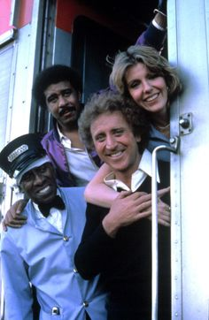 "trash-fuckyou: "" SILVER STREAK - Scatman Crothers, Richard Pryor, Gene Wilder, Jill Clayburgh, 1976. """