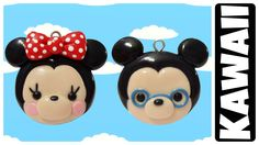 Como Hacer A Minnie Mouse y Mickey Mouse