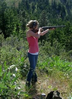 I love to go to the gun range with my husband!