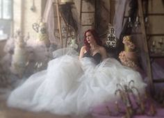Photographer - Elizabeth in love Cakes - Caketress  Gown- Sarah Houston 2014