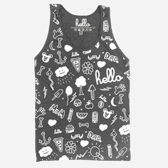 Hello Apparel baby and kids doodle tank coming soon!