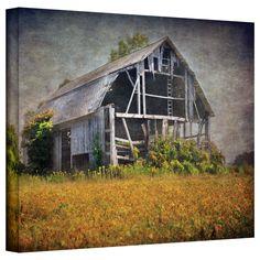ArtWall Antonio Raggio 'Country Barn' Gallery-Wrapped