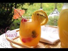 Fresh Mango Pineapple Lemonade Recipe - I Heart Recipes - https://www.cookingnovel.com/fresh-mango-pineapple-lemonade-recipe-i-heart-recipes/ #cooking #recipe #food