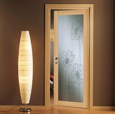 Porta vetrata design Poppy