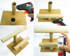 Formas creativas de dar un nuevo uso a los tubos de cartón