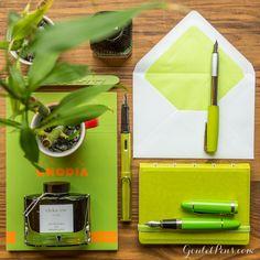 Goulet Pens Blog: Thursday Things: Bamboo Green