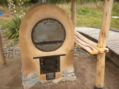 Wood-Fired Barrel Oven (more efficient than domed ovens for home cooks)