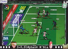 Sevilla FC, 4 - Granada CF, 0 - Stephane M'Bia, 3-0, min.57'