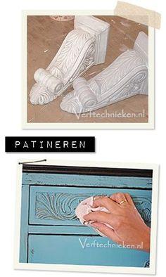 Verftechnieken.nl Patineertechnieken