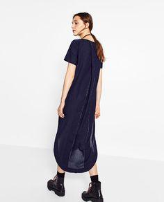 Image 3 de ROBE TUNIQUE EN JEAN de Zara