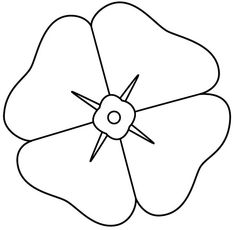 Poppy Coloring Page Branch Coloring Page Packed With Poppy Coloring - Coloring Page Ideas Poppy Coloring Page, Flower Coloring Pages, Colouring Pages, Colouring Sheets, Poppy Template, Anzac Poppy, Poppy Craft For Kids, Poppy Drawing, Poppy Images