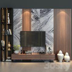 Tv Unit Decor, Tv Wall Decor, Wall Tv, Bedroom Tv Wall, Tv Unit Interior Design, Tv Wall Design, Tv Wanddekor, Modern Tv Wall Units, Modern Tv Room